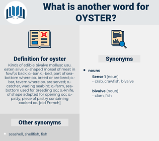 oyster, synonym oyster, another word for oyster, words like oyster, thesaurus oyster
