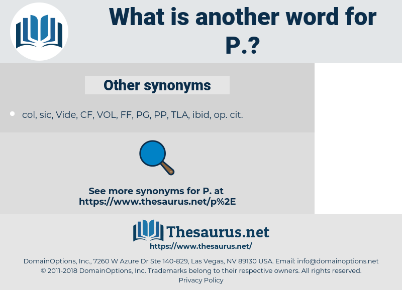 P, synonym P, another word for P, words like P, thesaurus P