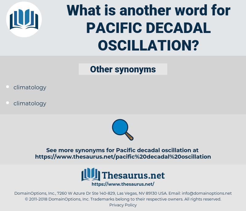 pacific decadal oscillation, synonym pacific decadal oscillation, another word for pacific decadal oscillation, words like pacific decadal oscillation, thesaurus pacific decadal oscillation