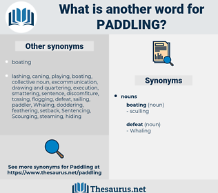 Paddling, synonym Paddling, another word for Paddling, words like Paddling, thesaurus Paddling