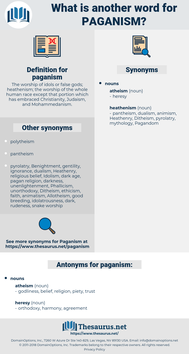 paganism, synonym paganism, another word for paganism, words like paganism, thesaurus paganism