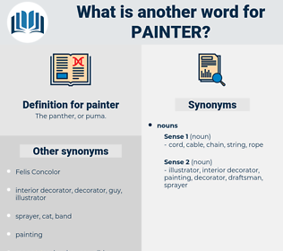 painter, synonym painter, another word for painter, words like painter, thesaurus painter
