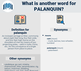 palanquin, synonym palanquin, another word for palanquin, words like palanquin, thesaurus palanquin