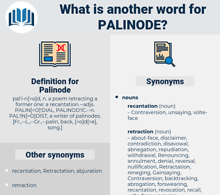 Palinode, synonym Palinode, another word for Palinode, words like Palinode, thesaurus Palinode