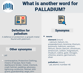 palladium, synonym palladium, another word for palladium, words like palladium, thesaurus palladium