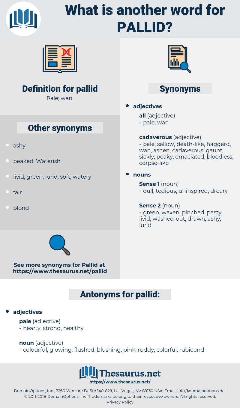 pallid, synonym pallid, another word for pallid, words like pallid, thesaurus pallid