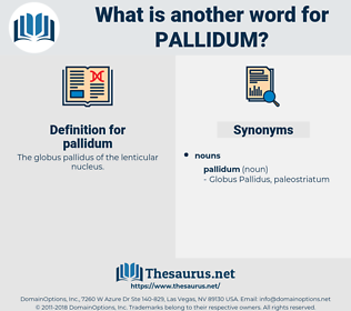 pallidum, synonym pallidum, another word for pallidum, words like pallidum, thesaurus pallidum