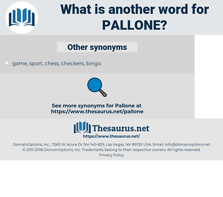 pallone, synonym pallone, another word for pallone, words like pallone, thesaurus pallone