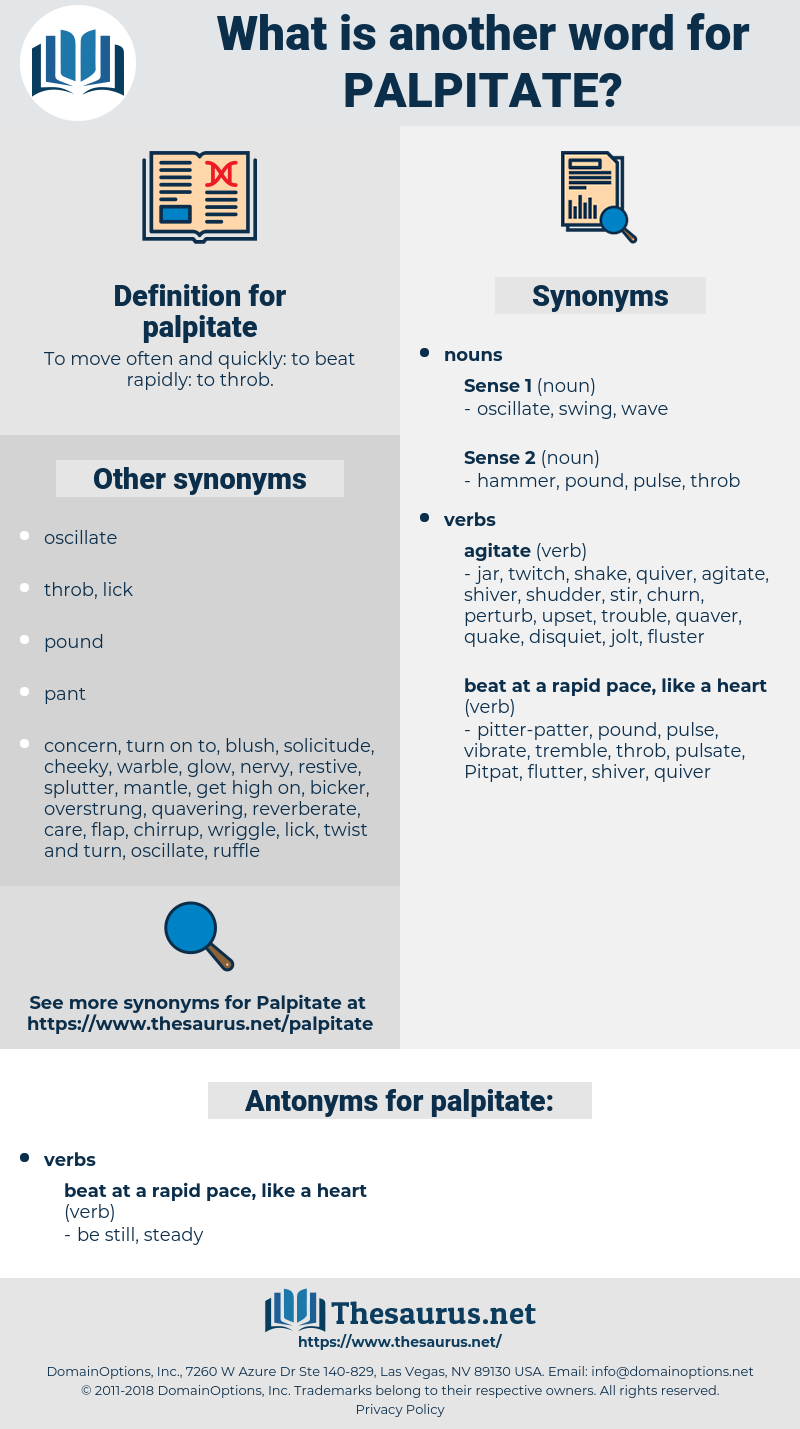 palpitate, synonym palpitate, another word for palpitate, words like palpitate, thesaurus palpitate