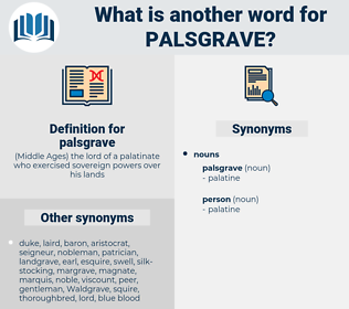 palsgrave, synonym palsgrave, another word for palsgrave, words like palsgrave, thesaurus palsgrave