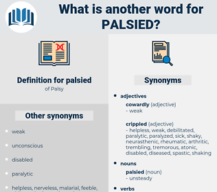palsied, synonym palsied, another word for palsied, words like palsied, thesaurus palsied