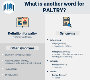 paltry, synonym paltry, another word for paltry, words like paltry, thesaurus paltry