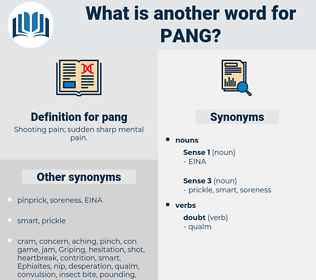 pang, synonym pang, another word for pang, words like pang, thesaurus pang