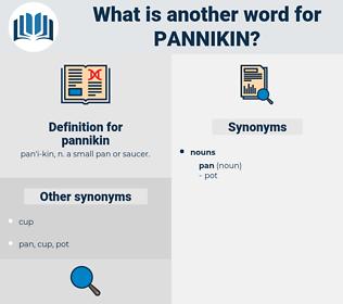 pannikin, synonym pannikin, another word for pannikin, words like pannikin, thesaurus pannikin