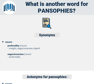 pansophies, synonym pansophies, another word for pansophies, words like pansophies, thesaurus pansophies