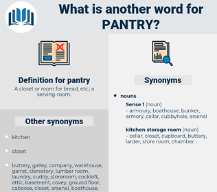 pantry, synonym pantry, another word for pantry, words like pantry, thesaurus pantry