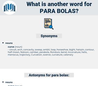 para-bolas, synonym para-bolas, another word for para-bolas, words like para-bolas, thesaurus para-bolas