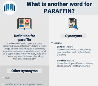 paraffin, synonym paraffin, another word for paraffin, words like paraffin, thesaurus paraffin