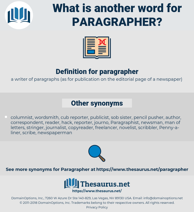 paragrapher, synonym paragrapher, another word for paragrapher, words like paragrapher, thesaurus paragrapher