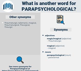 parapsychological, synonym parapsychological, another word for parapsychological, words like parapsychological, thesaurus parapsychological