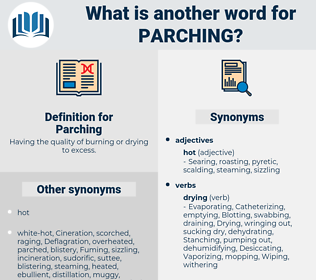 Parching, synonym Parching, another word for Parching, words like Parching, thesaurus Parching