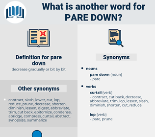 pare down, synonym pare down, another word for pare down, words like pare down, thesaurus pare down