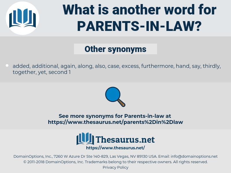 parents-in-law, synonym parents-in-law, another word for parents-in-law, words like parents-in-law, thesaurus parents-in-law