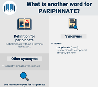 paripinnate, synonym paripinnate, another word for paripinnate, words like paripinnate, thesaurus paripinnate