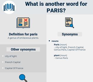 paris, synonym paris, another word for paris, words like paris, thesaurus paris
