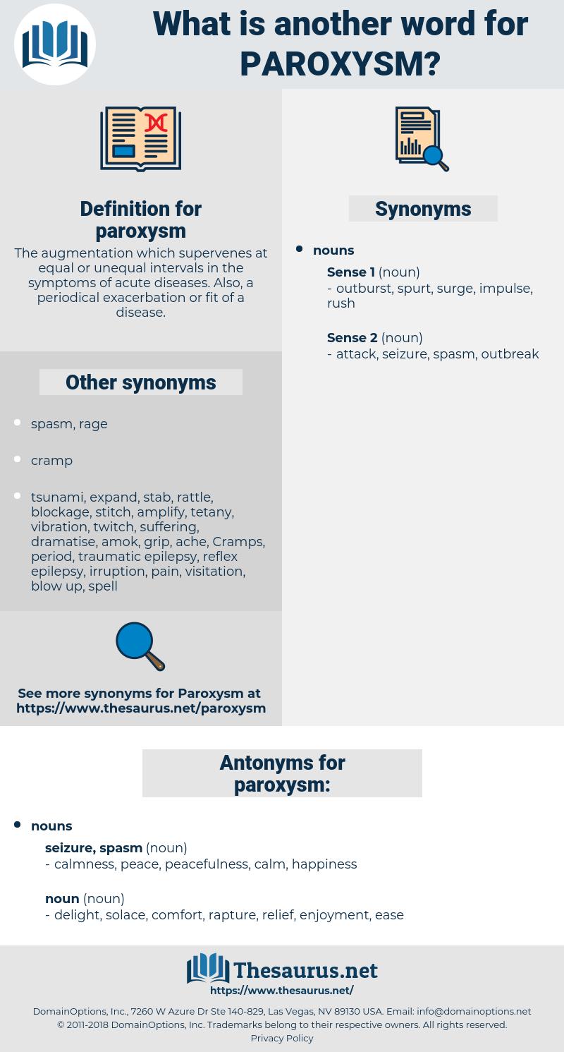 paroxysm, synonym paroxysm, another word for paroxysm, words like paroxysm, thesaurus paroxysm