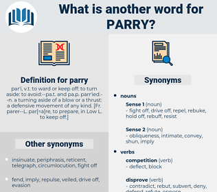 parry, synonym parry, another word for parry, words like parry, thesaurus parry