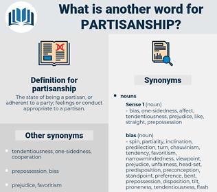 partisanship, synonym partisanship, another word for partisanship, words like partisanship, thesaurus partisanship