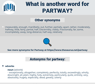 partway, synonym partway, another word for partway, words like partway, thesaurus partway