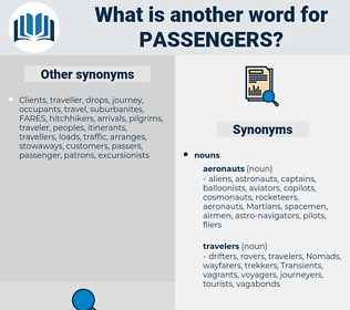 passengers, synonym passengers, another word for passengers, words like passengers, thesaurus passengers