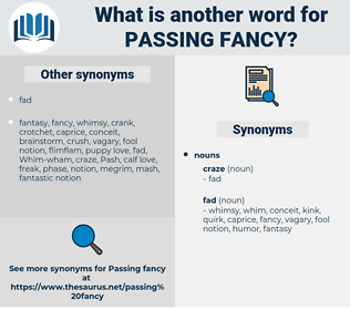 passing fancy, synonym passing fancy, another word for passing fancy, words like passing fancy, thesaurus passing fancy