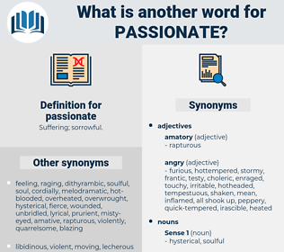 passionate, synonym passionate, another word for passionate, words like passionate, thesaurus passionate