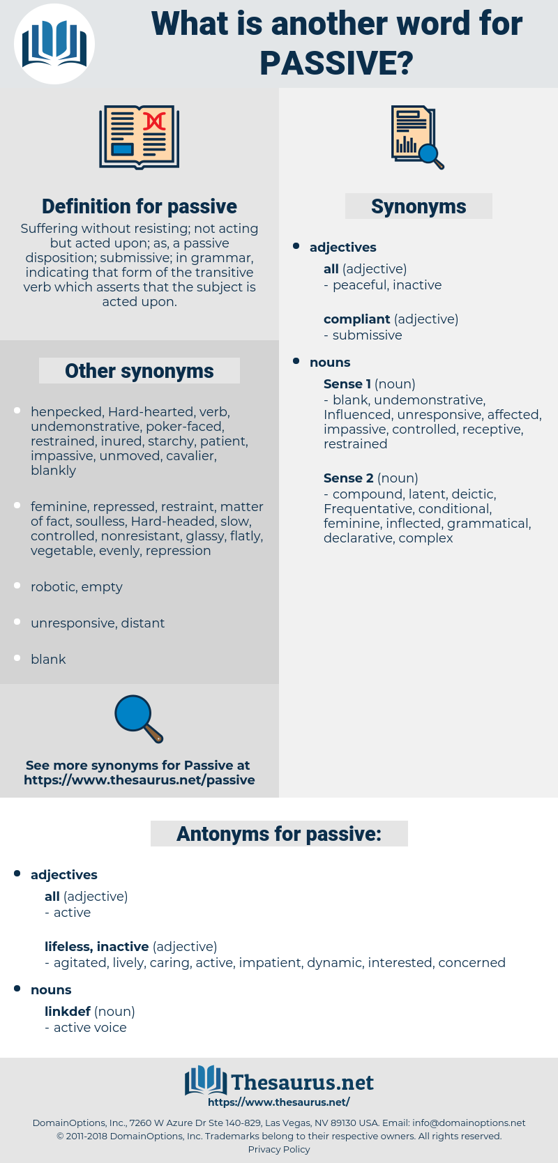 passive, synonym passive, another word for passive, words like passive, thesaurus passive