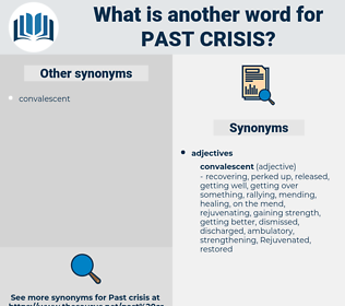 past crisis, synonym past crisis, another word for past crisis, words like past crisis, thesaurus past crisis
