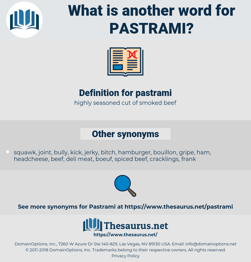 pastrami, synonym pastrami, another word for pastrami, words like pastrami, thesaurus pastrami