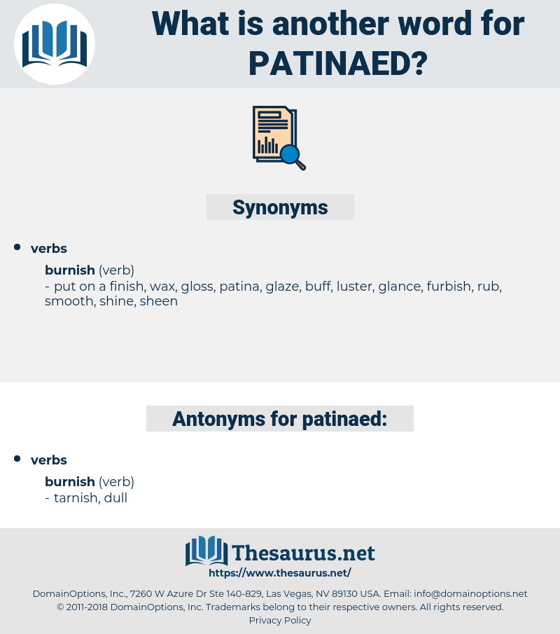 patinaed, synonym patinaed, another word for patinaed, words like patinaed, thesaurus patinaed