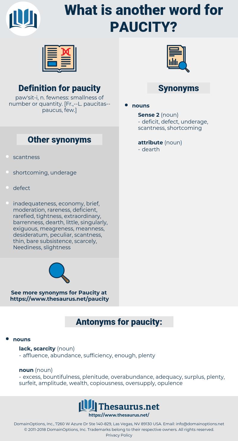 paucity, synonym paucity, another word for paucity, words like paucity, thesaurus paucity