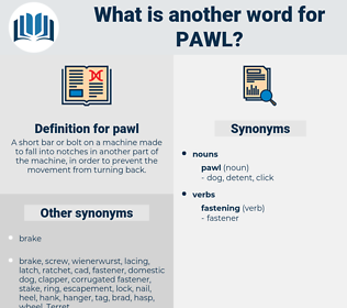 pawl, synonym pawl, another word for pawl, words like pawl, thesaurus pawl