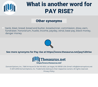 pay rise, synonym pay rise, another word for pay rise, words like pay rise, thesaurus pay rise