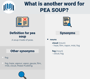 pea soup, synonym pea soup, another word for pea soup, words like pea soup, thesaurus pea soup