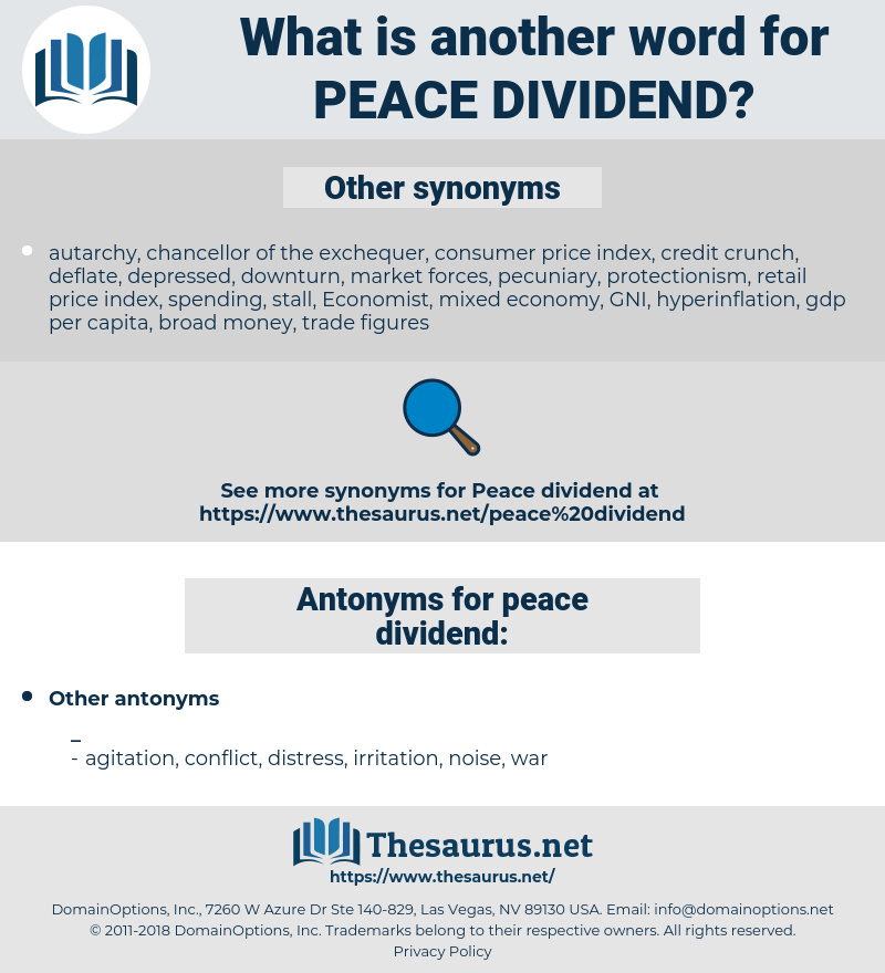 peace dividend, synonym peace dividend, another word for peace dividend, words like peace dividend, thesaurus peace dividend