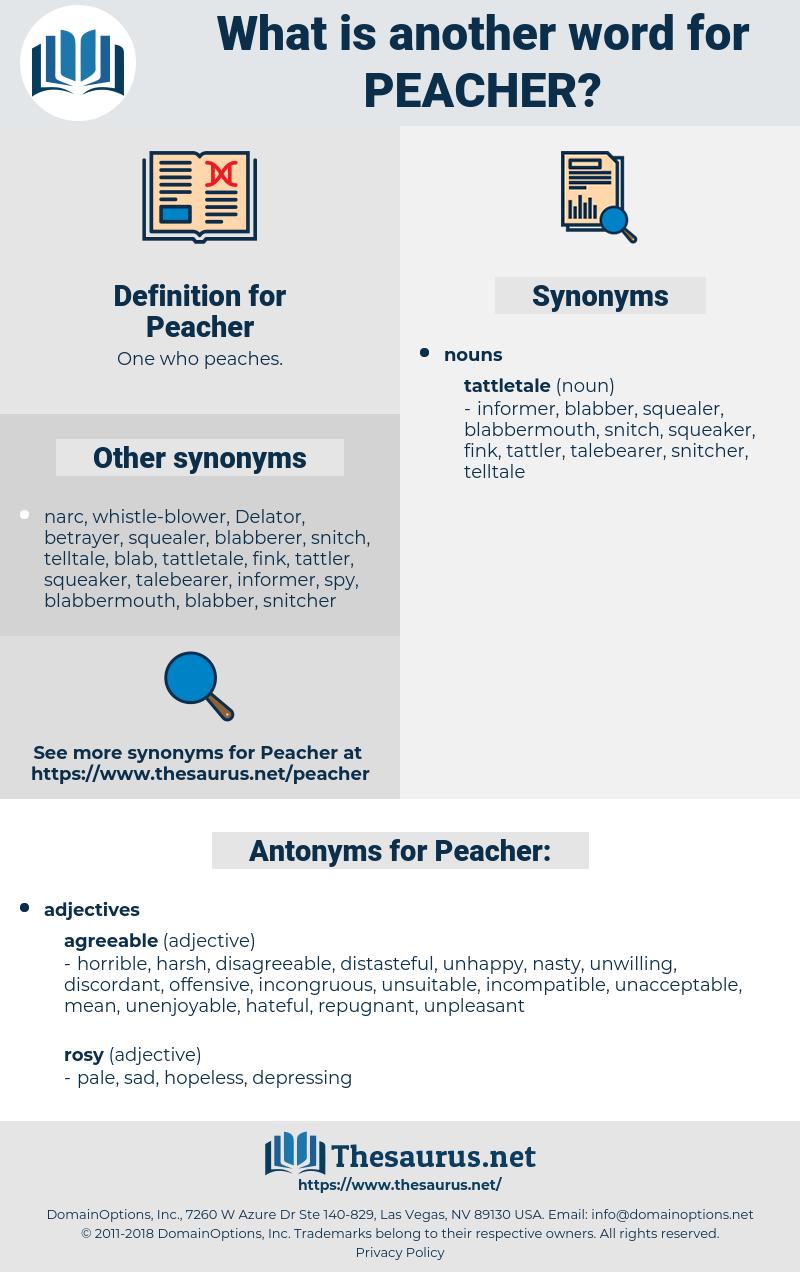 Peacher, synonym Peacher, another word for Peacher, words like Peacher, thesaurus Peacher