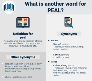 peal, synonym peal, another word for peal, words like peal, thesaurus peal