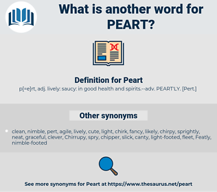 Peart, synonym Peart, another word for Peart, words like Peart, thesaurus Peart