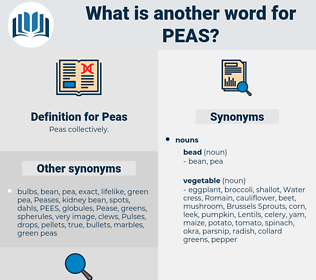 Peas, synonym Peas, another word for Peas, words like Peas, thesaurus Peas
