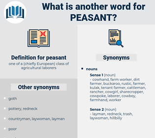 peasant, synonym peasant, another word for peasant, words like peasant, thesaurus peasant